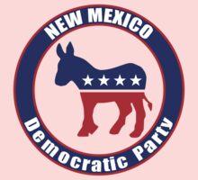 New Mexico Democratic Party Original One Piece - Short Sleeve