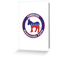 Tennessee Democratic Party Original Greeting Card