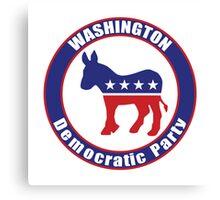 Washington Democratic Party Original Canvas Print