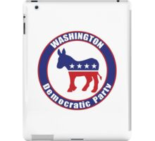 Washington Democratic Party Original iPad Case/Skin