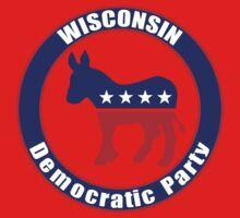 Wisconsin Democratic Party Original One Piece - Short Sleeve
