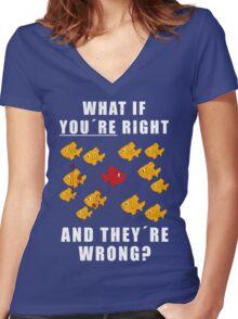 Fargo - Lester Nygaard Women's Fitted V-Neck T-Shirt