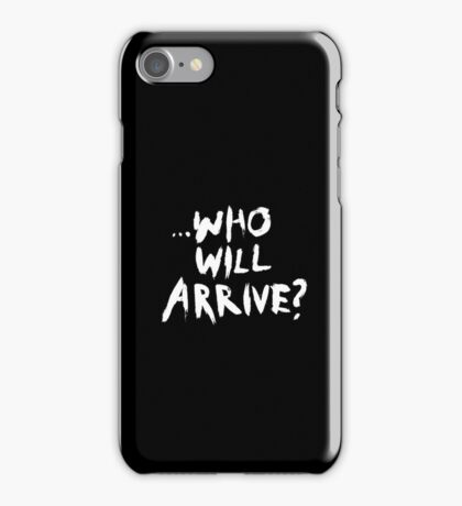 'Who Will Arrive?' The Walking Dead iPhone Case iPhone Case/Skin