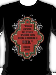 Beer For Cheers T-Shirt