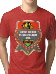 Beer Party Day Tri-blend T-Shirt