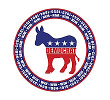 Democratic Party Wins Photographic Print