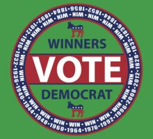 Winners Vote Democrat Kids Clothes