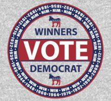 Winners Vote Democrat Kids Tee
