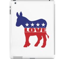 Love Democrats iPad Case/Skin