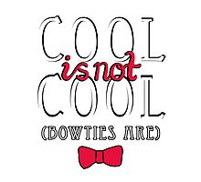 Cool is not Cool Photographic Print