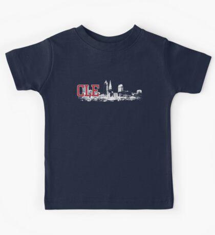 CLE Skyline Kids Tee