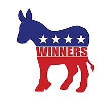 Vote Winners Democrat Photographic Print