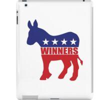 Vote Winners Democrat iPad Case/Skin