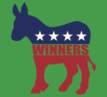 Vote Winners Democrat Baby Tee