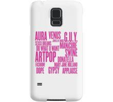 ARTPOP (White) Samsung Galaxy Case/Skin
