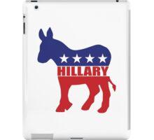 Vote Hillary Democrat iPad Case/Skin