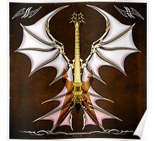 Dark Angel Heavy Guitar Poster