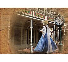 Belle in Town Photographic Print