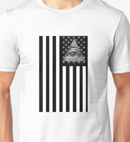 Illuminati Flag Unisex T-Shirt