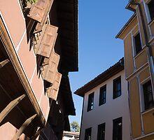 Oriel Windows and Renaissance Facades in Old Town Plovdiv, Bulgaria by Georgia Mizuleva