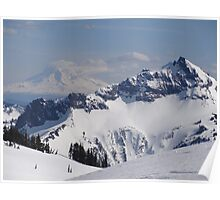 View South From Rainier Poster