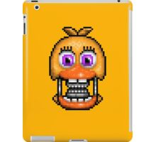Adventure Withered Chica - FNAF World - Pixel Art iPad Case/Skin