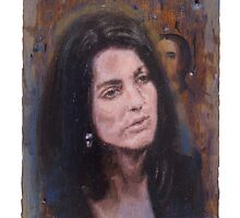 Portrait of Christine Chubbuck by robertpriseman