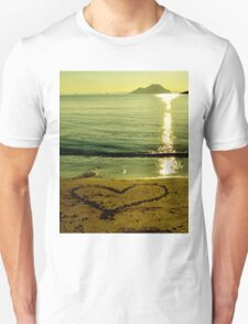 love is in sand T-Shirt