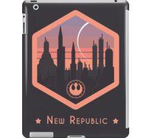 Coruscant - New Republic Emblem - Star Wars iPad Case/Skin