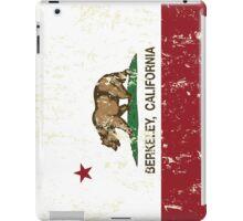 Berkeley California Republic Flag  iPad Case/Skin