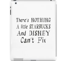 Starbucks and Disney Fix iPad Case/Skin