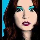 Amy Pond Pop Art (Doctor Who) by rachwho