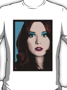 Amy Pond Pop Art (Doctor Who) T-Shirt