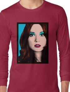 Amy Pond Pop Art (Doctor Who) Long Sleeve T-Shirt
