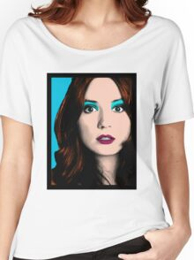 Amy Pond Pop Art (Doctor Who) Women's Relaxed Fit T-Shirt