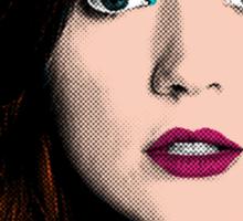 Amy Pond Pop Art (Doctor Who) Sticker