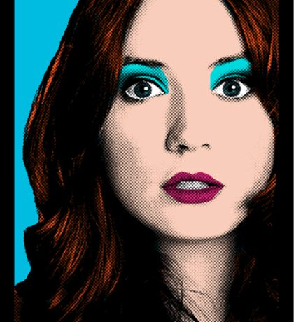 Amy Pond Pop Art (Doctor Who) Sticker