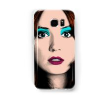 Amy Pond Pop Art (Doctor Who) Samsung Galaxy Case/Skin