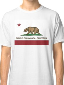 Rancho Cucamonga California Republic Flag  Classic T-Shirt
