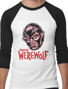 TEENAGE WEREWOLF Men's Baseball ¾ T-Shirt