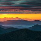 North Carolina Blue Ridge Parkway Morning Majesty by Dave Allen
