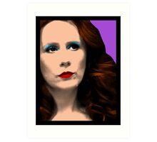 Donna Noble Pop Art Art Print