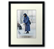 Spanish Nun  Framed Print