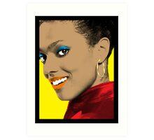 Martha Jones Pop Art Art Print