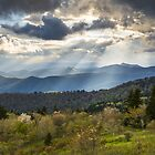 Blue Ridge Parkway North Carolina Mountains Gods Country by Dave Allen
