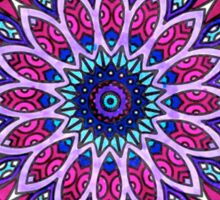 Mandala Cool Toned Sticker