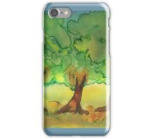 Three Strong Trees iPhone Case/Skin