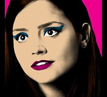 Clara Oswald Pop Art by rachwho