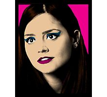 Clara Oswald Pop Art Photographic Print