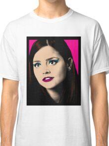 Clara Oswald Pop Art Classic T-Shirt